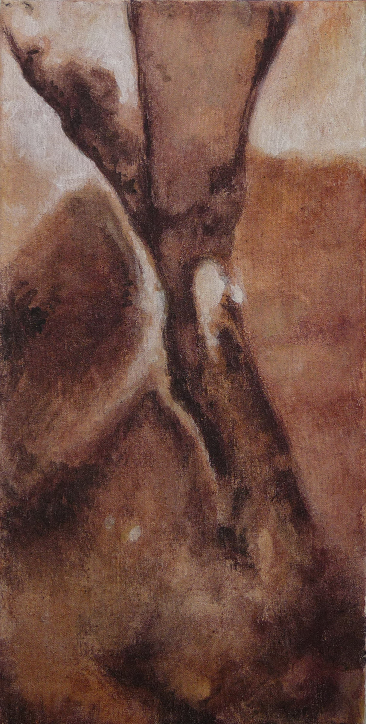 <p><strong>Colour study</strong><br />Punic wax, 20 x 40 cm</p>