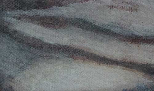 <p><strong>Faded               | 2-6 |</strong><br />SOLD</strong><br />Punic wax on canvas, 6 x 3,5 cm </p>