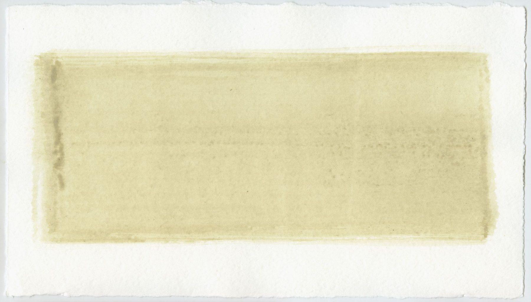 Brush stroke no. 8 - Selfmade pigment: Slabroek grijs