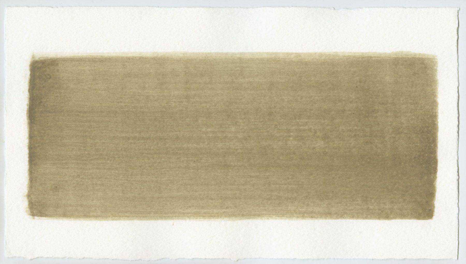 Brush stroke no. 13 - Selfmade pigment: Perekker grijs