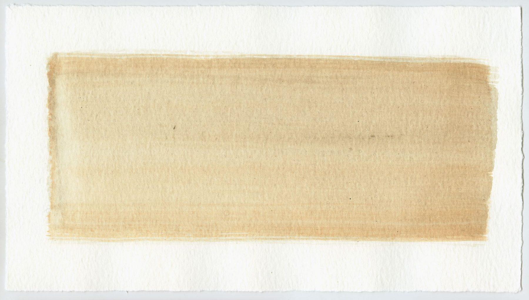Brush stroke no. 25 - Selfmade pigment: Boekels roze, Boekels grijs