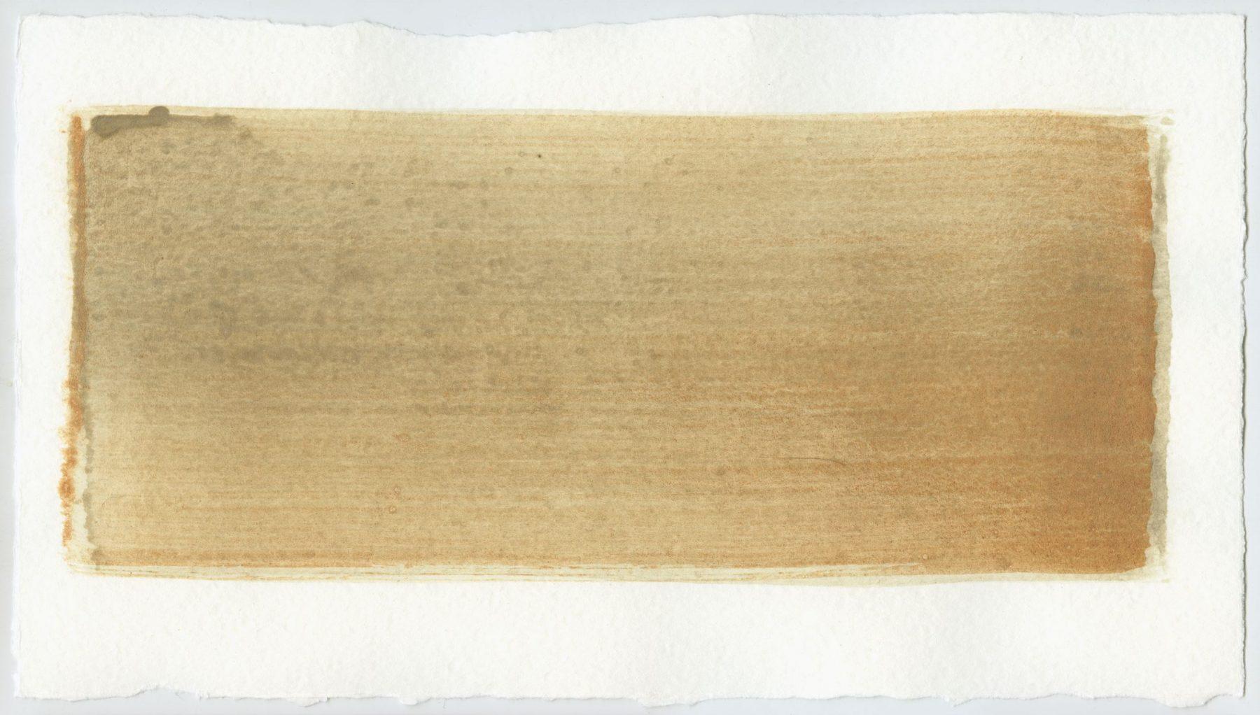 Brush stroke no. 26 - Selfmade pigment: Perekker grijs, Perekker roze
