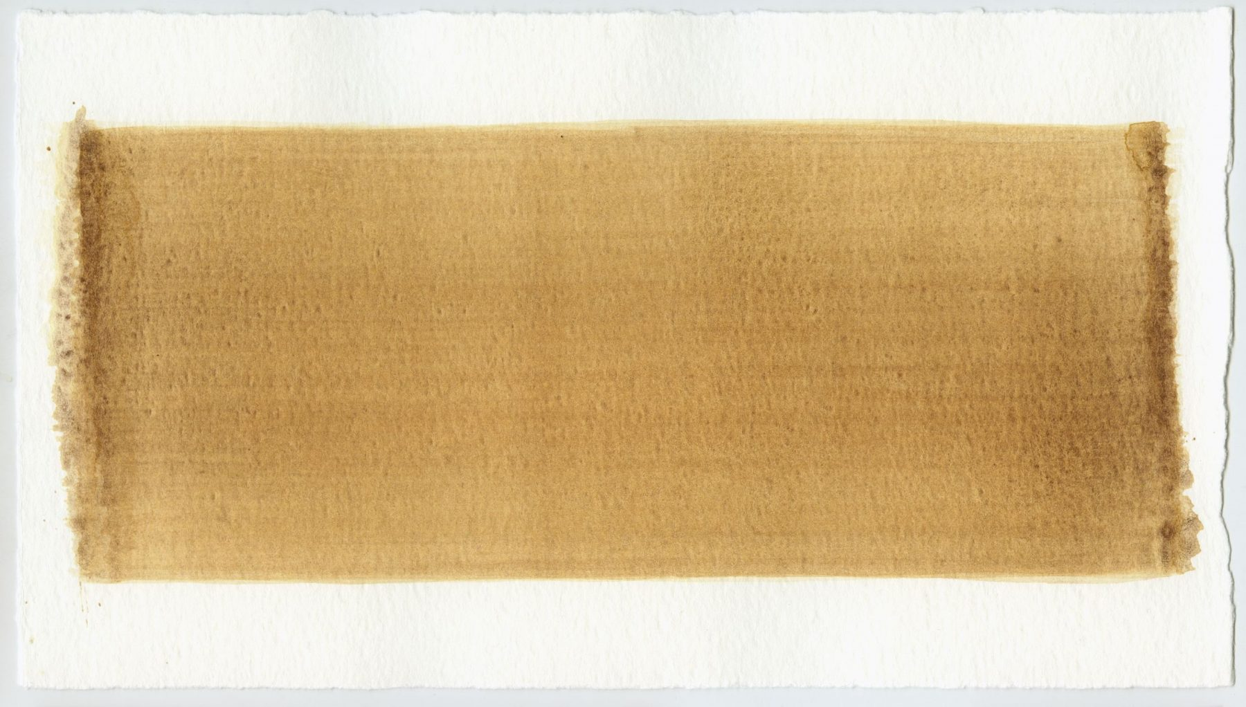 Brush stroke no. 83 - Selfmade pigment: IJzeroer