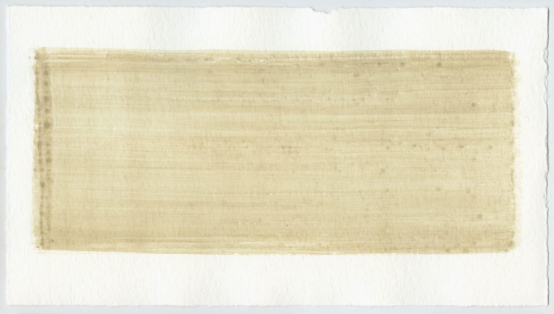 Brush stroke no. 86 - Selfmade pigment: Boekels grijs