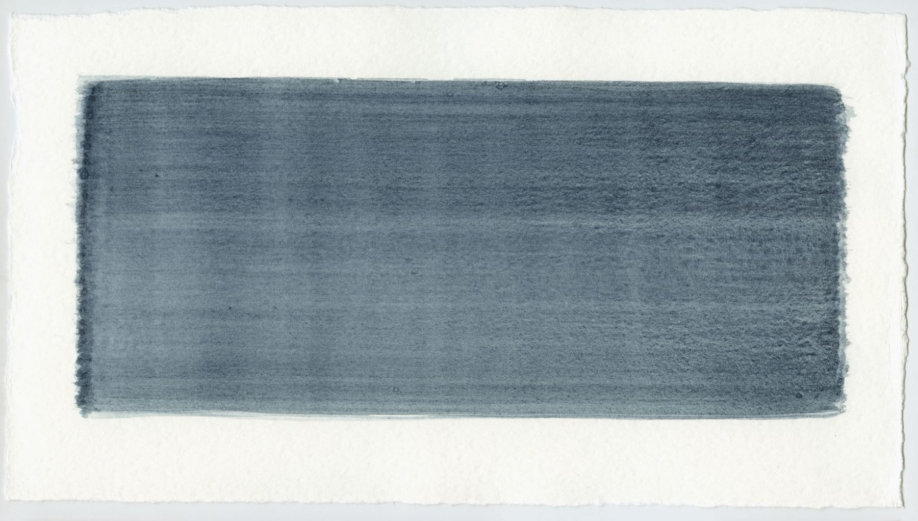 Brush stroke no. 94 - Pigment: Vivianiet (from Kremer Pigmente)
