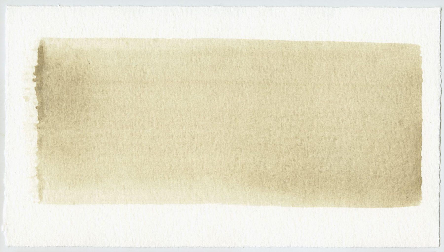 Brush stroke no. 99 - SOLD - Selfmade pigment: Perekker grijs gebrand